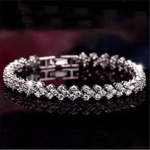 Jewelry - Women's crystal rhinestone tennis bracelet